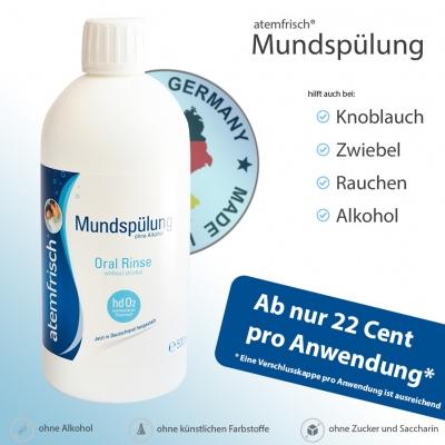 atemfrisch® Mundspülung 500 ml
